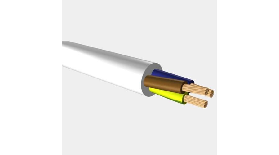 MT kábel H05VV-F 3×2.5 fehér