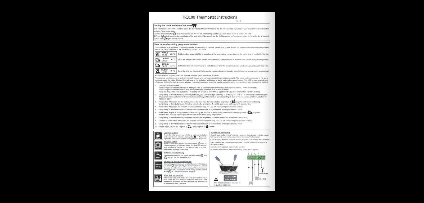 TR 3100 Használati leírás 02 Angol nyelv