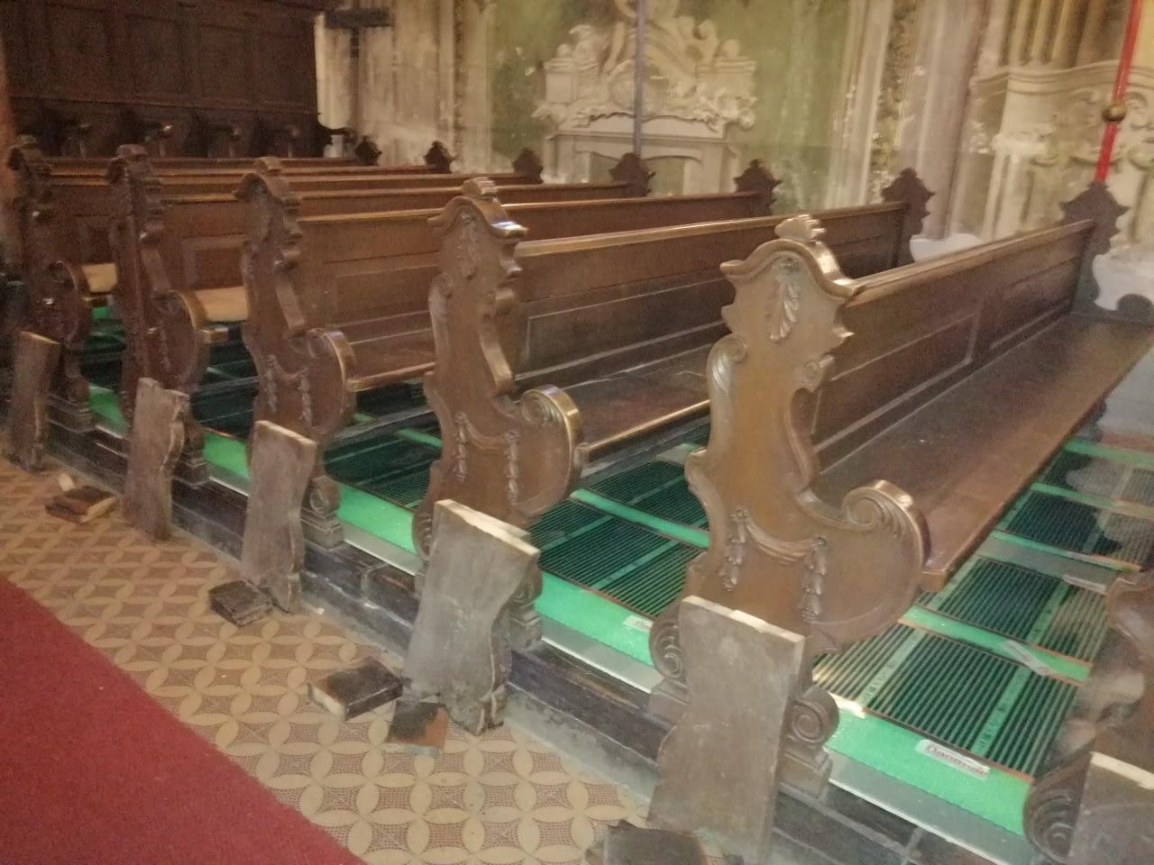 Templomi padsorok fűtése