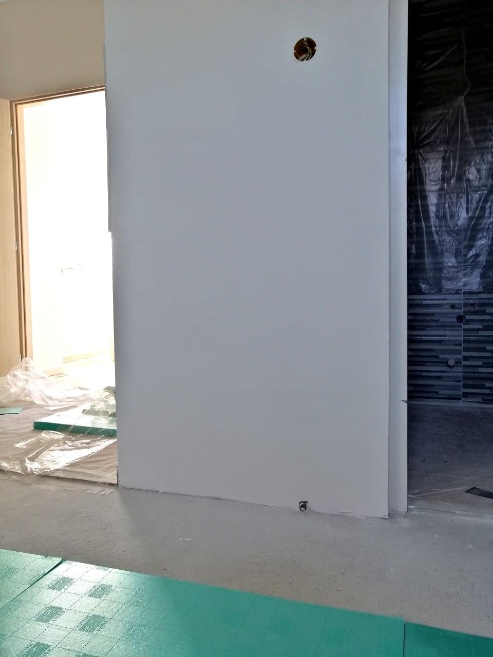 Infra padlófűtés rendszer szerelése (8)