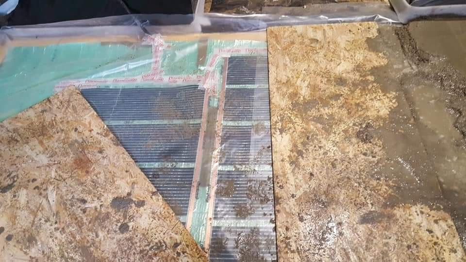 Infra fűtőfólia telepítése esztrich beton alá (8)