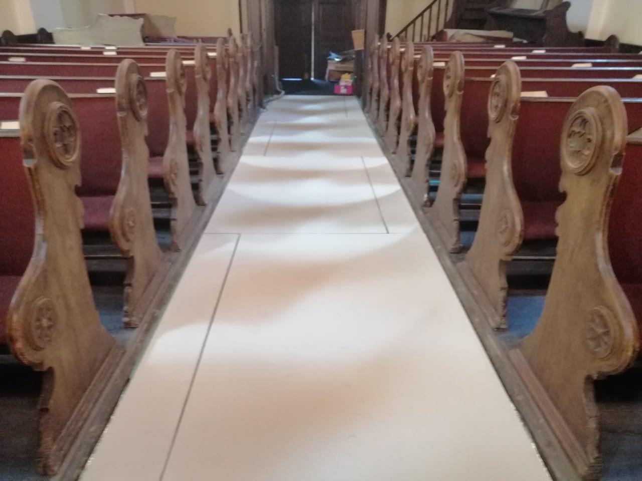 Infra padlófűtés korszerűsítés Evangélikus egyház Szeged