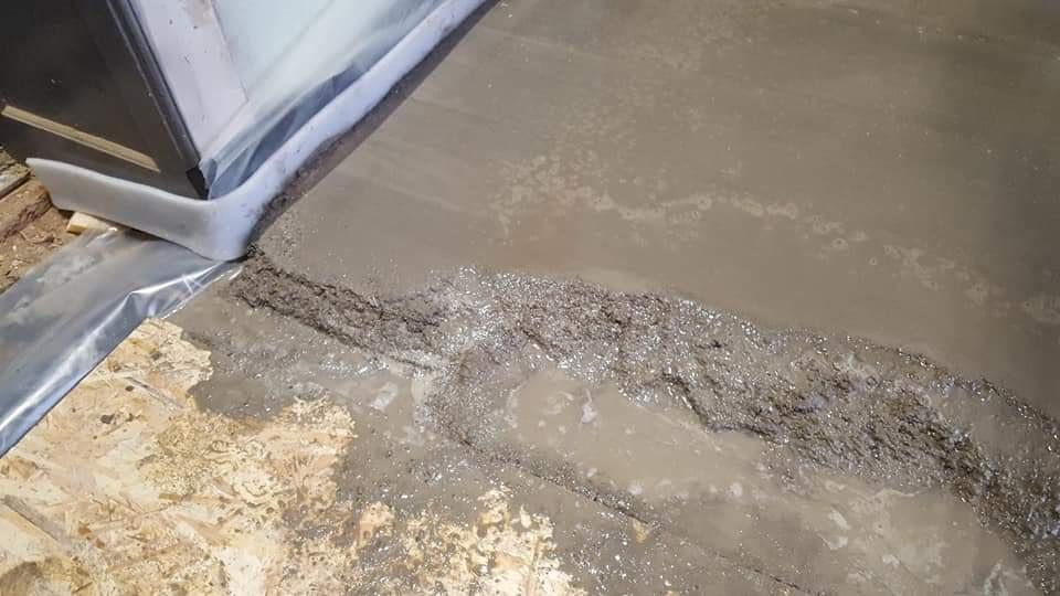 Infra fűtőfólia telepítése esztrich beton alá (14)