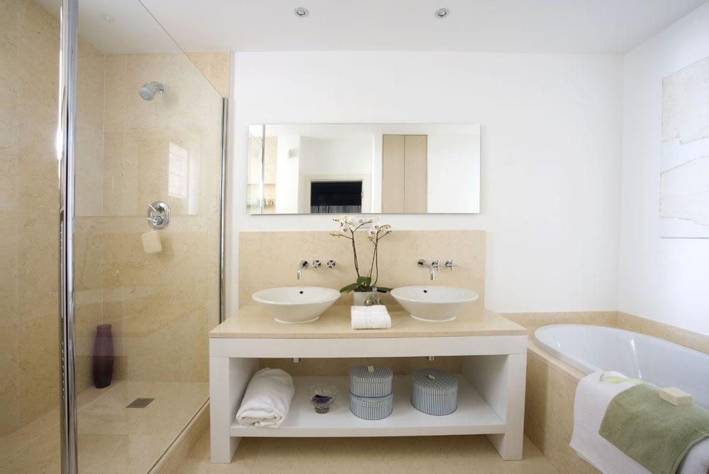 Tükrös Infra panel fürdőszobához